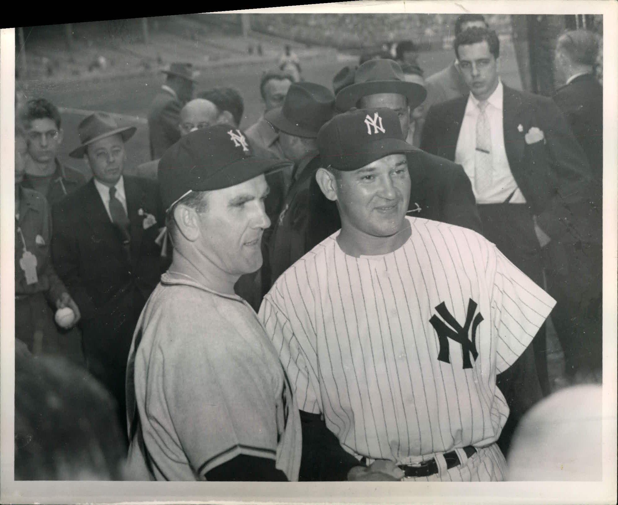94cc9019168 Lot Detail - 1951 World Series New York Yankees New York Giants
