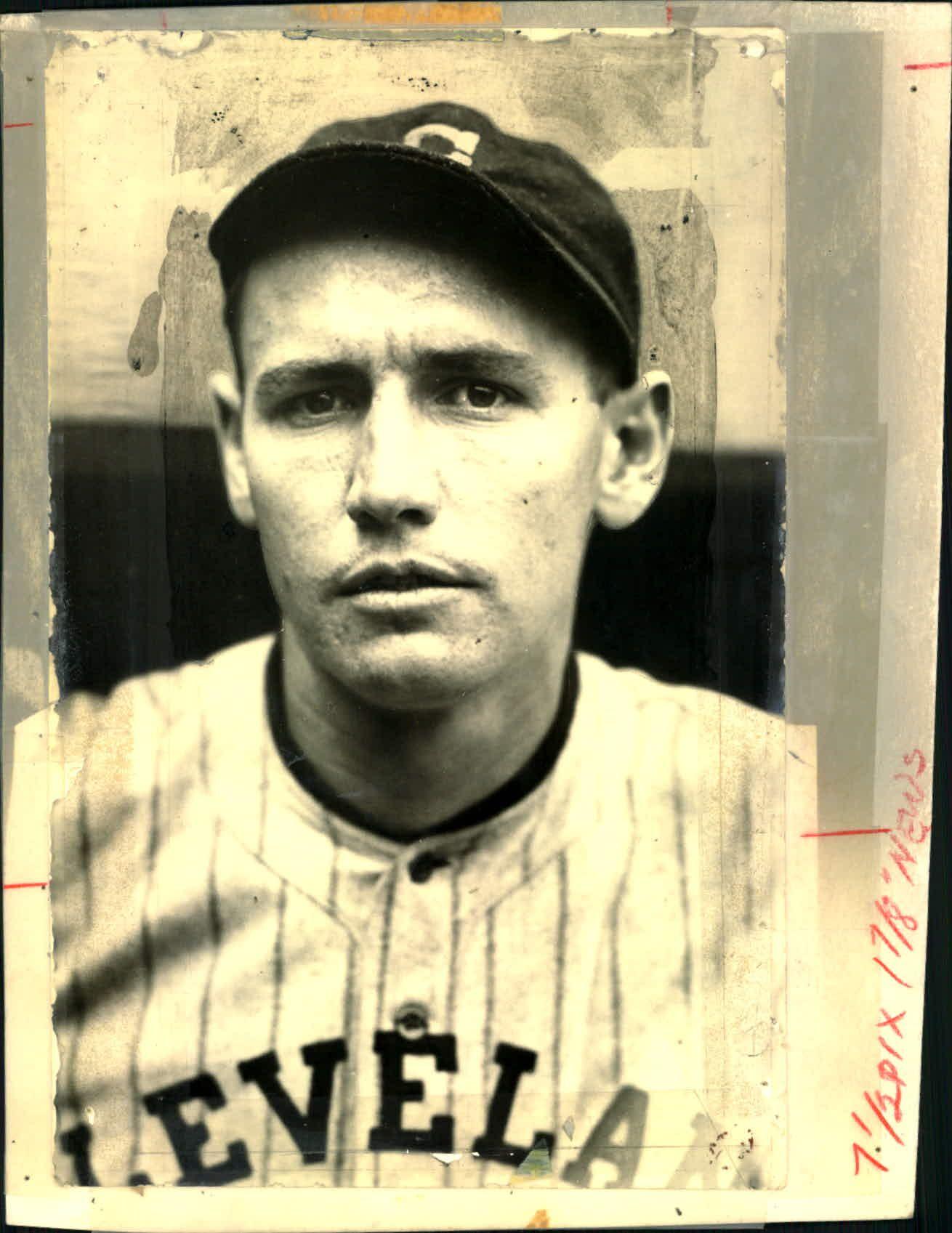 Lot Detail 1918 Smoky Joe Wood Cleveland Indians The