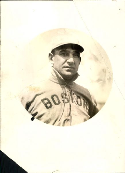 "1909-1910 Jake Stahl Boston Red Sox ""The Sporting News Collection Archives"" Type A Original Photo (Sporting News Collection Hologram/MEARS Photo LOA)"