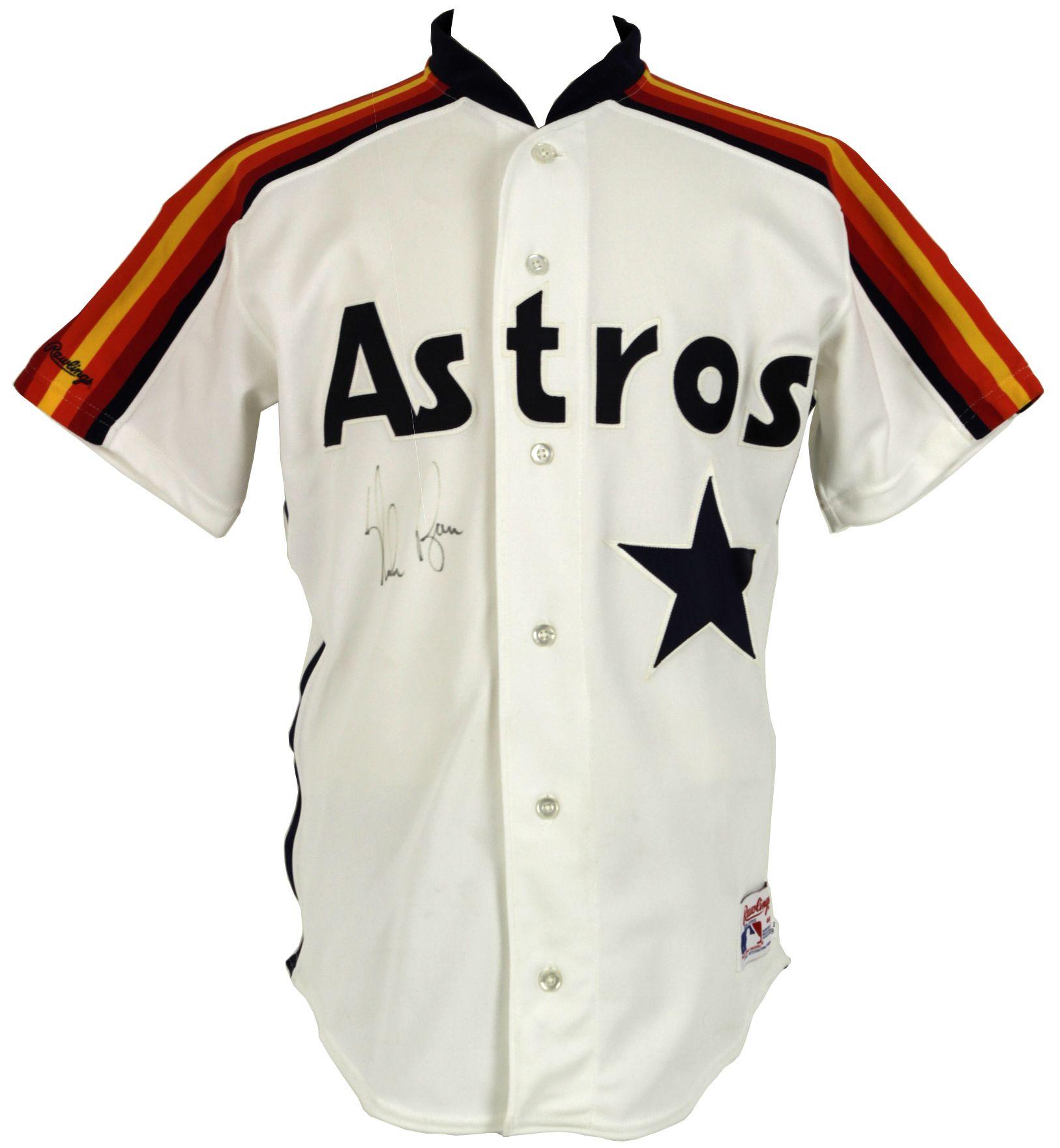 Lot Detail 1990 Nolan Ryan Houston Astros Signed
