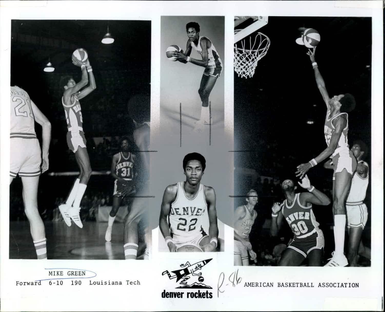 lot detail 1967 76 circa american basketball association aba