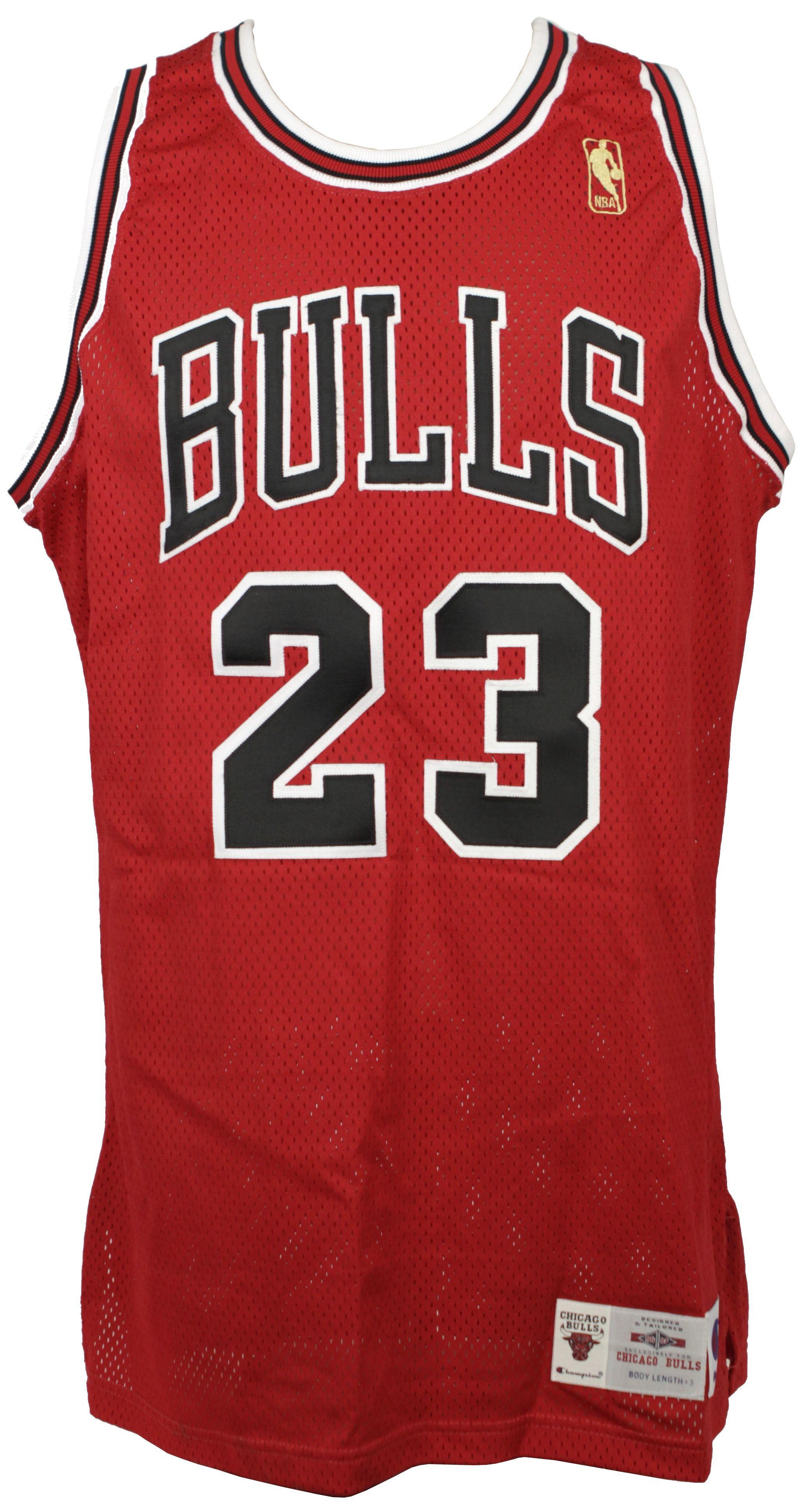 premium selection b129e 57d2f Lot Detail - 1996-97 Michael Jordan Chicago Bulls Pro Cut ...