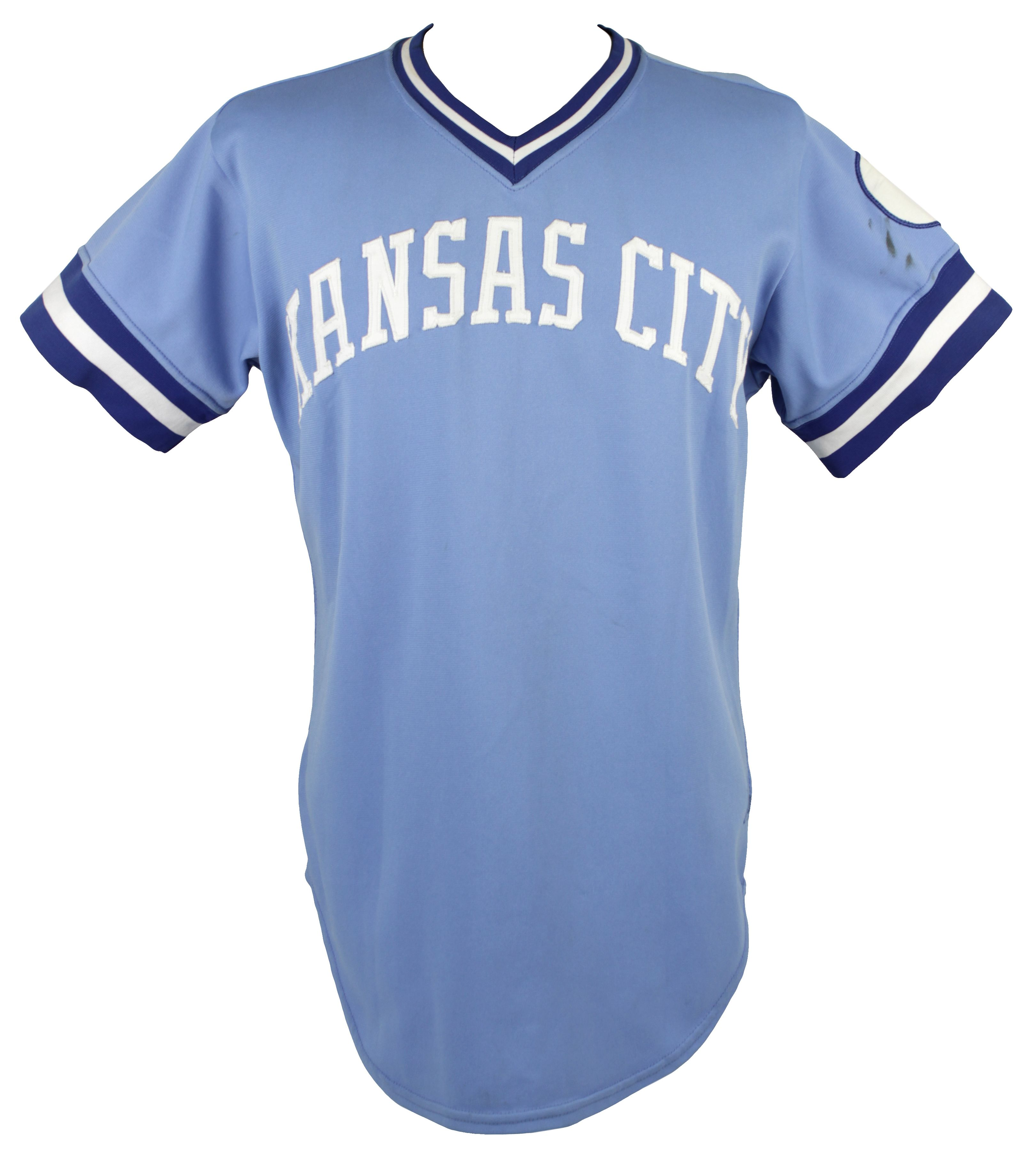 ... spain kansas city royals game worn powder blue jersey mears a10. touch  to zoom 9c8e9 b5b5b7029