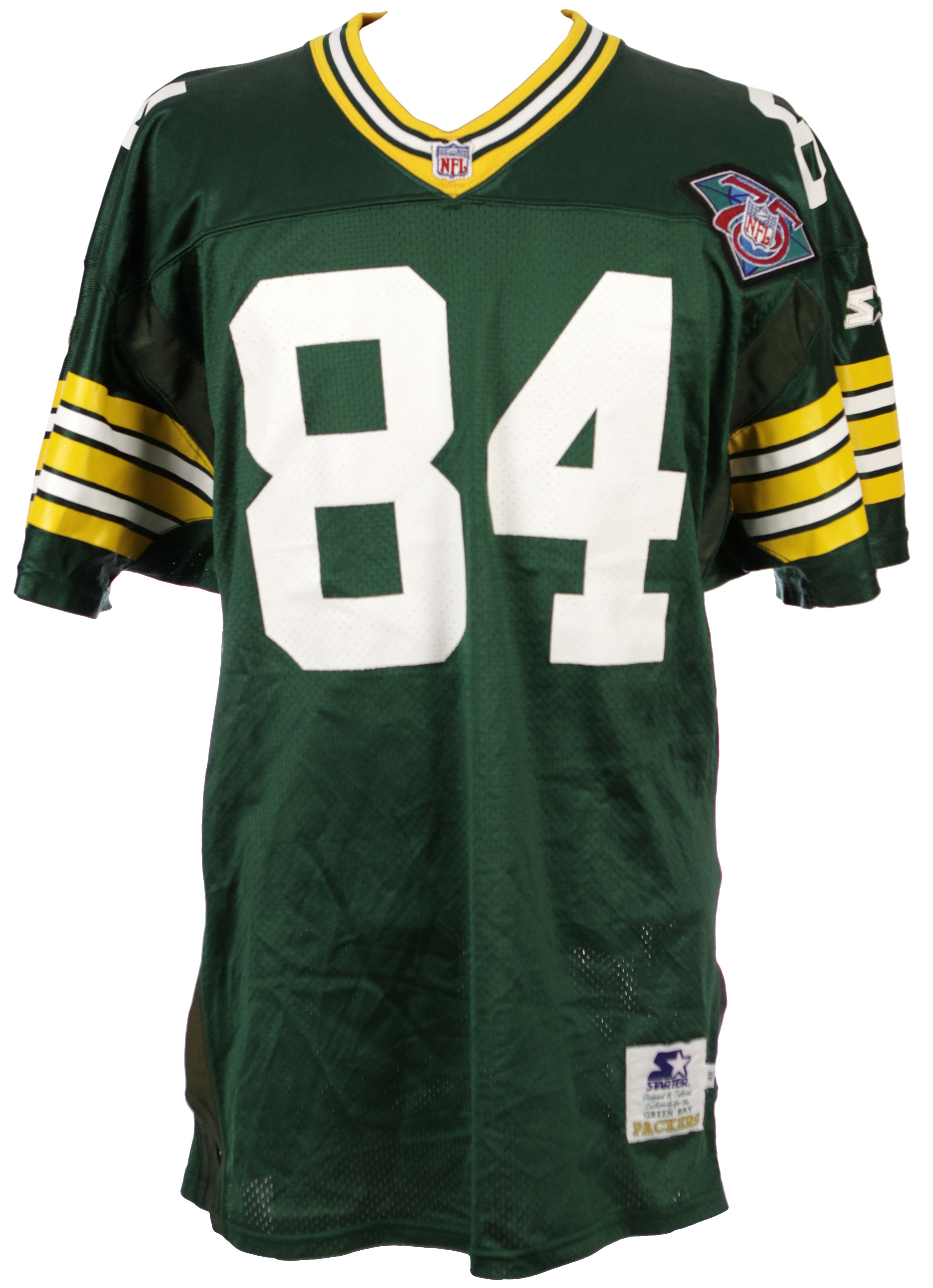 premium selection 016a8 797d0 Jersey Green Packers Authentic Sterling Detail - 1994 W ...