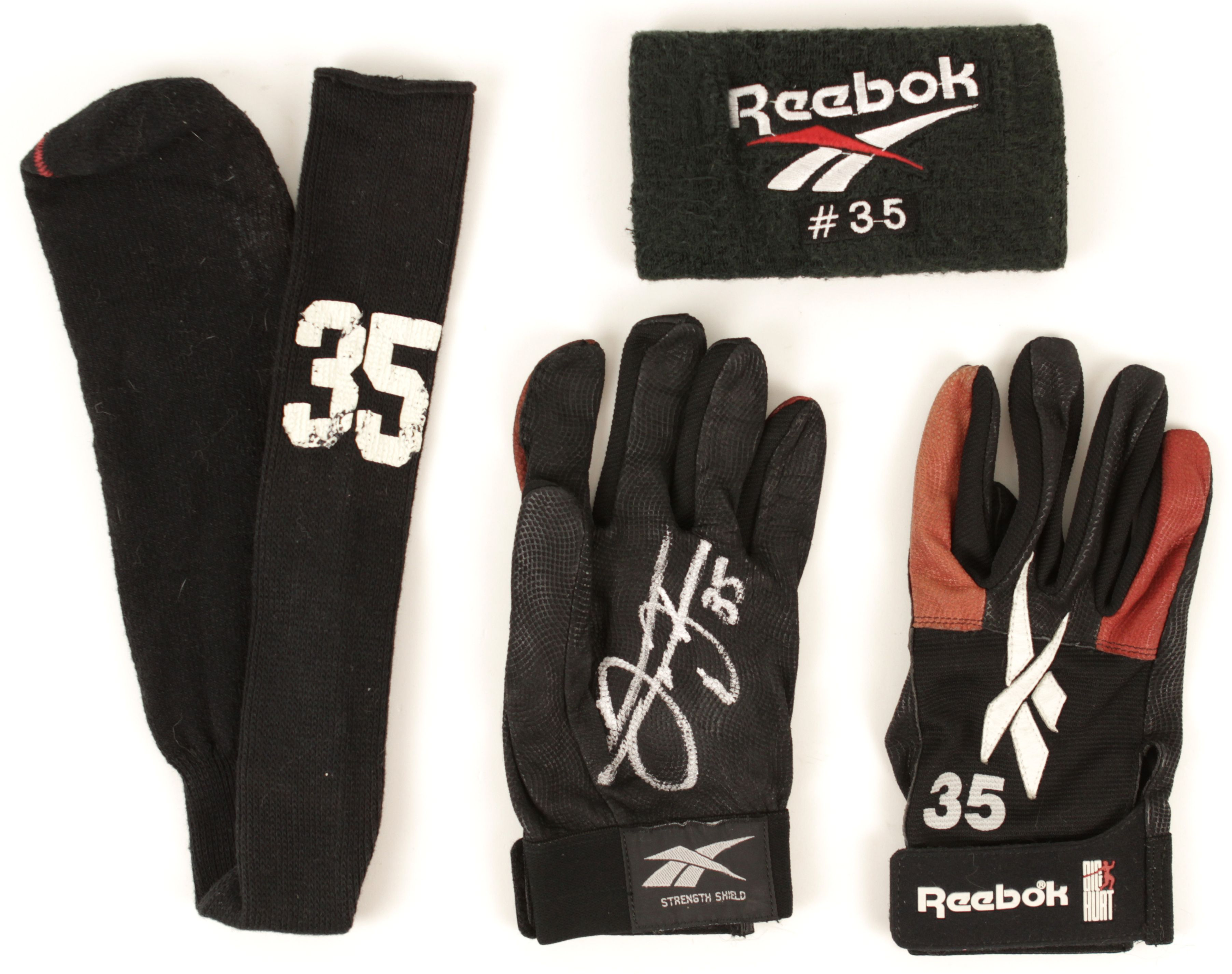 baf6544d1ef 1998 Frank Thomas Chicago White Sox Game Worn Batting Gloves Sock    Wristband - With Style. Tap to expand