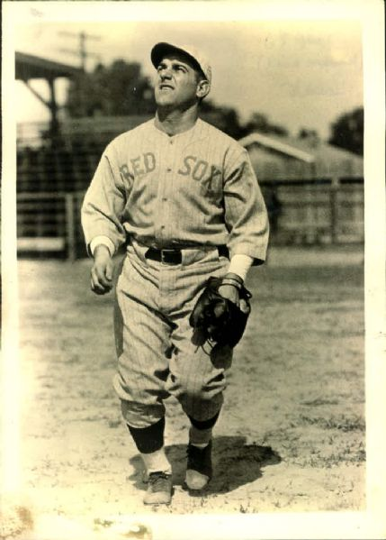 "1931 Gene ""Half Pint"" Rye Boston Red Sox ""TSN Collection Archives"" Original 5"" x 7"" Photo (Sporting News Collection Hologram/MEARS LOA)"