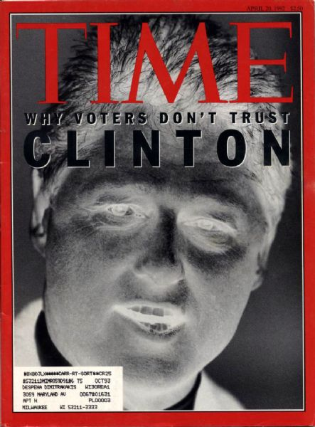 1992-93 Bill Clinton TIME Magazine - Lot of 6