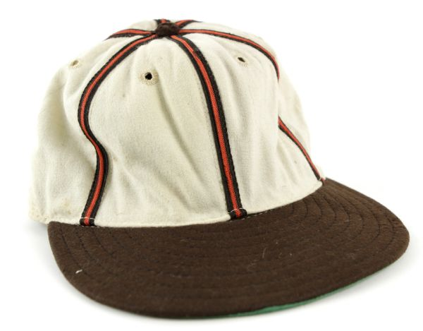 1960s St. Louis Browns Rawlings Game Worn Old Timers Cap – 1940-45 style (MEARS LOA)