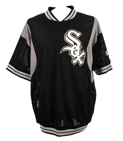 2006 Matt Thornton Chicago White Sox Game Worn BP Jersey Purchased From White Sox - MEARS LOA
