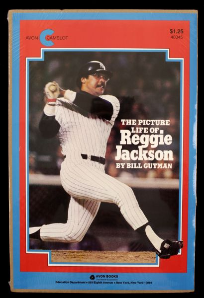 "1970s Reggie Jackson New York Yankees The Picture Life of Reggie Jackson 10 1/2"" x 15 1/2"" Promotional Poster"