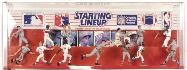 "1990s Starting Lineup In-Store Display - 26"" x 10"""