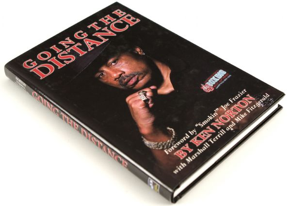 2000 Ken Norton Going The Distance Signed Hardcover Book - JSA