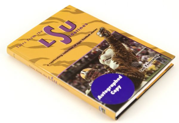 2002 Tales from the LSU Sidelines Signed Hardcover Book