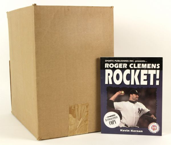 1999 Alex Rodriguez Seattle Mariners & Roger Clemens New York Yankees Book - Lot of 49