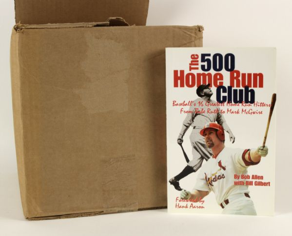 2000 the 500 Home Run Club Book  - Lot of 23 w/ Mark McGwire & Babe Ruth on Cover