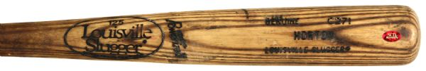 1988-89 Ricky Horton Los Angeles Dodgers Louisville Slugger Professional Model Game Used Bat (MEARS LOA)