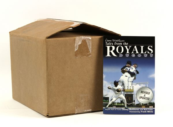 2006 Frank White Kansas City Royals Tales from the Royals Dugout - Case of 30