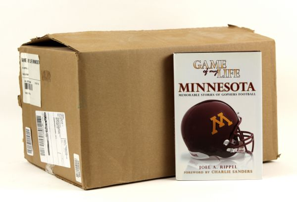 2007 Game of my Life Minnesota Golden Gophers Hardcover Book - Lot of 26