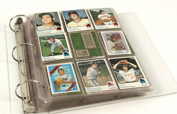 1973-79 Collection of Topps Baseball Cards 390 Cards w/Thurman Munson Reggie Jackson Nolan Ryan Yaz