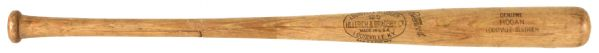 1952 Shanty Hogan Hot Springs Bathers Cotton State League H&B Louisville Slugger Professional Model Game Used Bat (MEARS LOA)