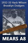 1932 Hack Wilson Brooklyn Dodgers H&B Louisville Slugger Professional Model Game Used Bat (MEARS A8)