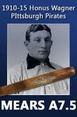 1910-15 Honus Wagner Pittsburgh Pirates JF Hillerich & Son CO. Louisville Slugger Professional Model Game Used Decal Bat (MEARS A7.5)