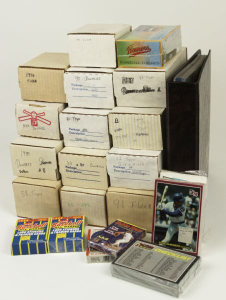 1983-93  Baseball Card Collection