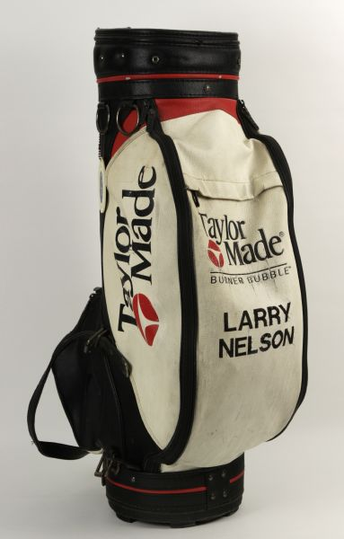1983 Larry Nelson  Match Used Golf Bag  - With Possible Attribution to Winning US Open Performance