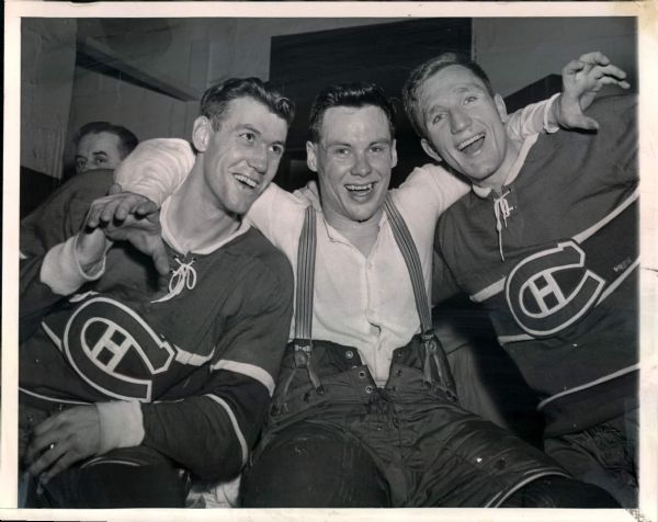 1950s-60s Montreal Canadiens Original Photos - Lot of 40 (MEARS LOA)