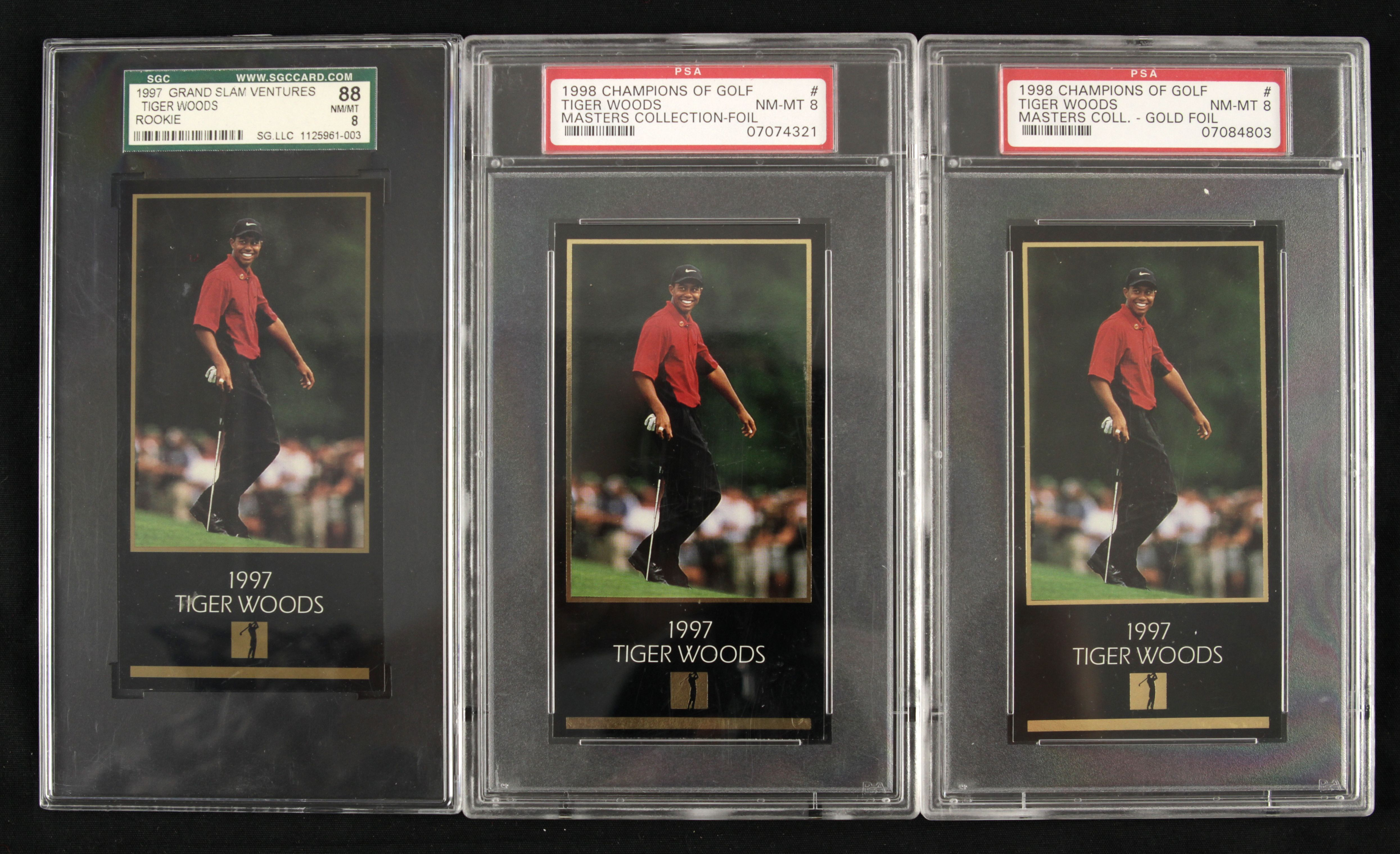 Lot Detail 1998 Tiger Woods Champions Of Golf Masters