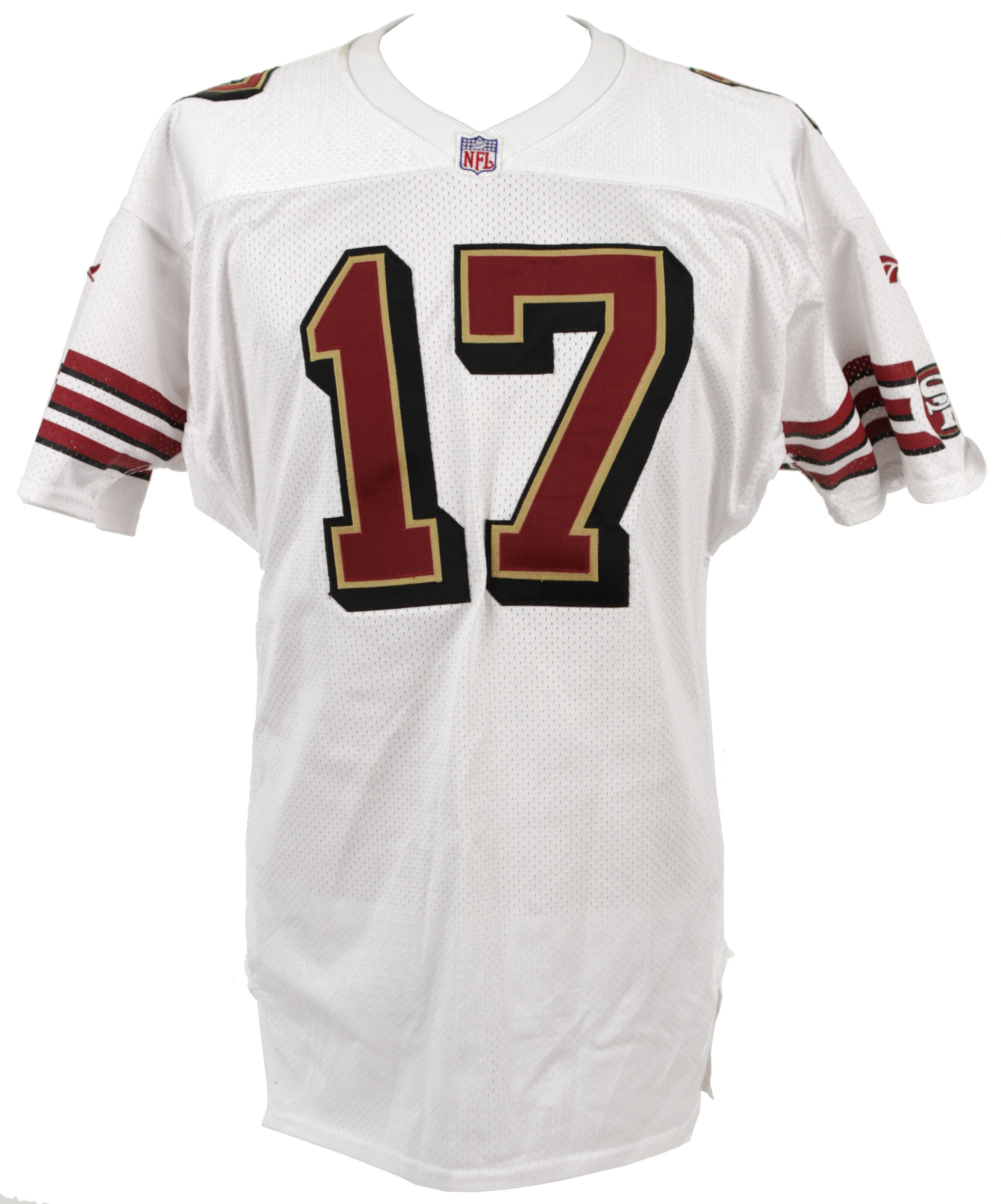 1d0921c21df Lot Detail - 1990s San Francisco 49ers Game Worn  17 Jersey (MEARS LOA)