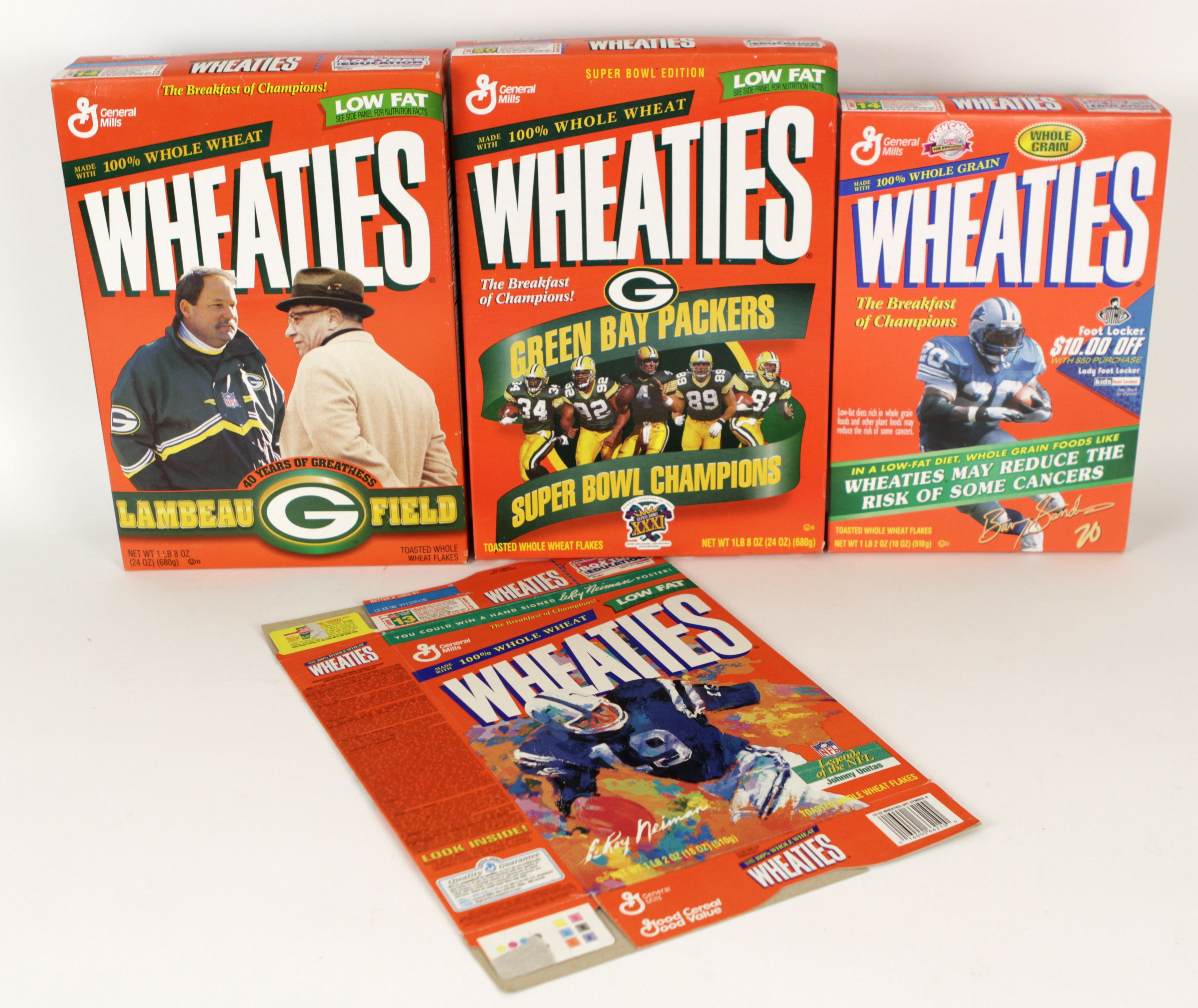 1990s-2000s The Ultimate Wheaties & Cereal