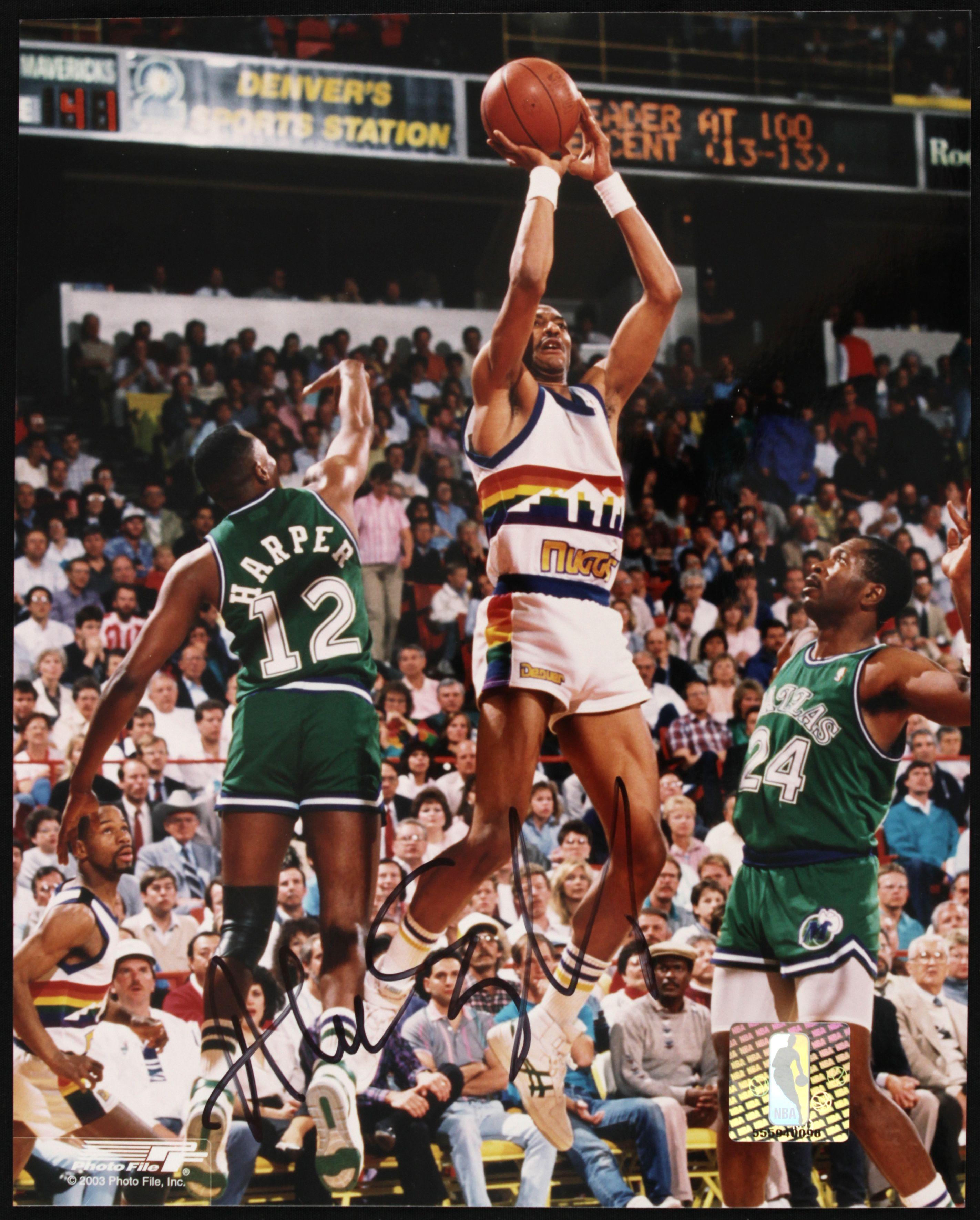 Nuggets English: 1980s Mitch Richmond Golden State Warriors