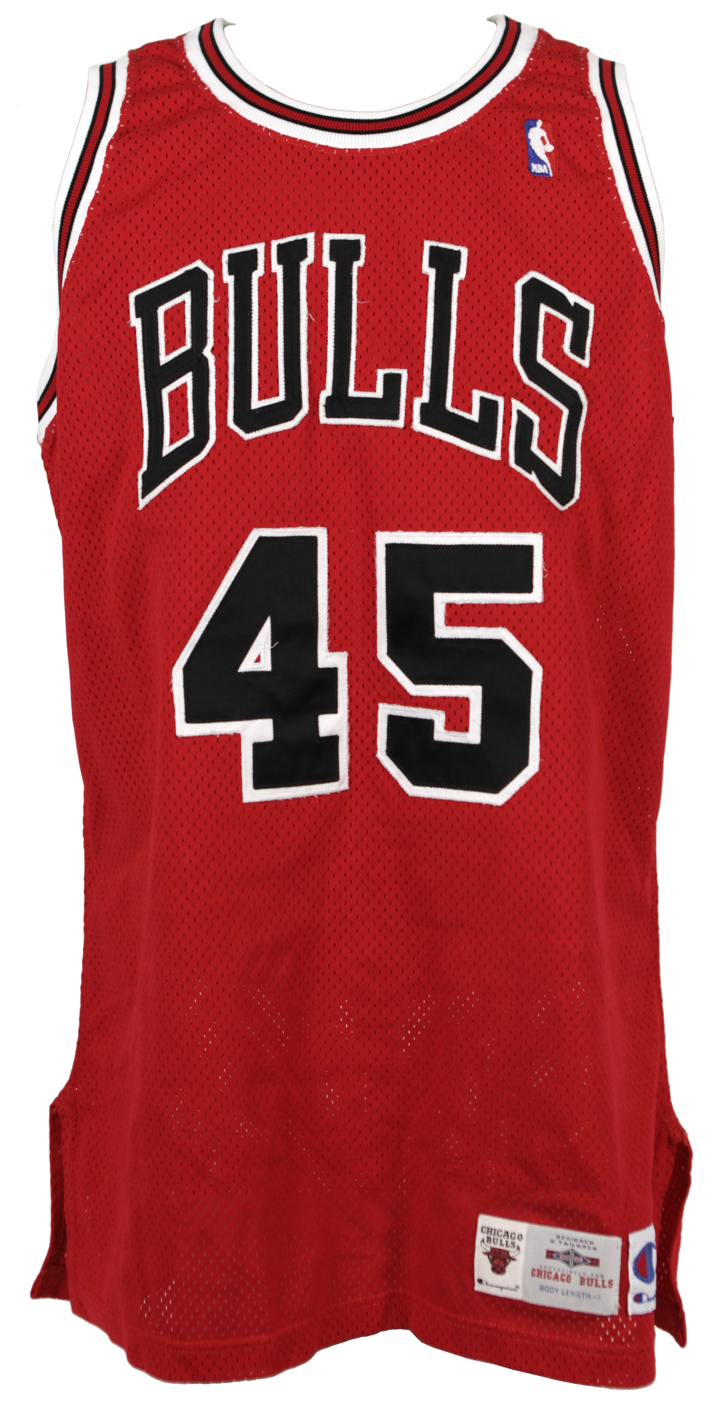 hot sales 7a77b e07d5 Lot Detail - 1994-95 Michael Jordan Chicago Bulls Game Worn ...