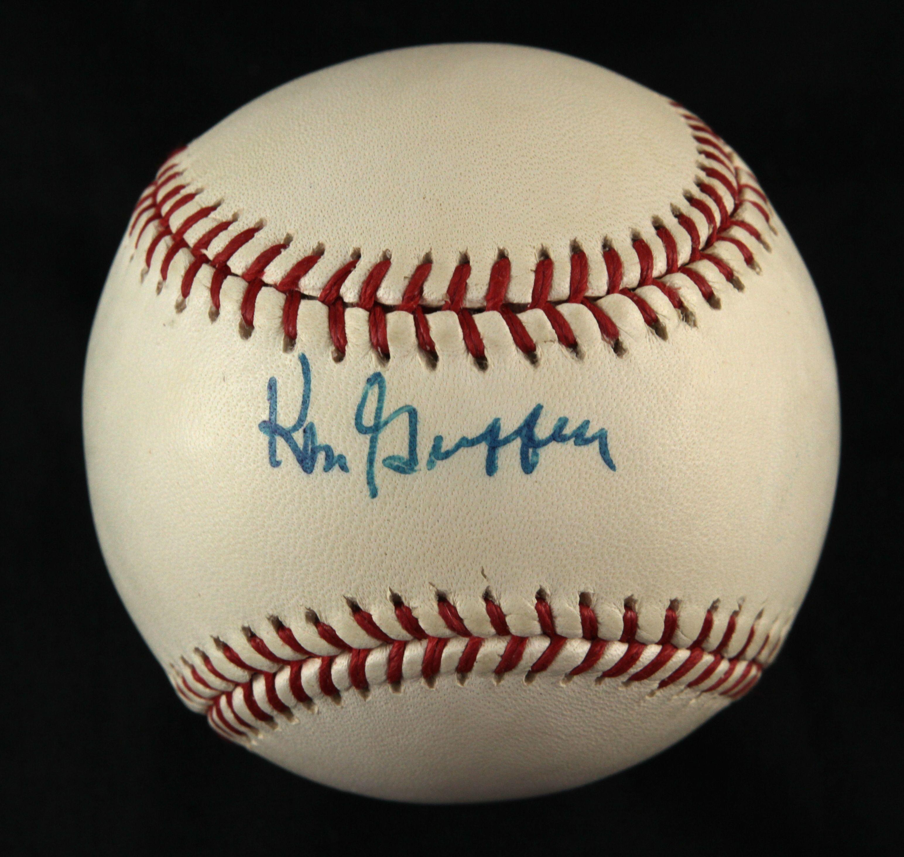 815620116b Lot Detail - 1990s Ken Griffey Sr. Seattle Mariners Signed Baseball ...