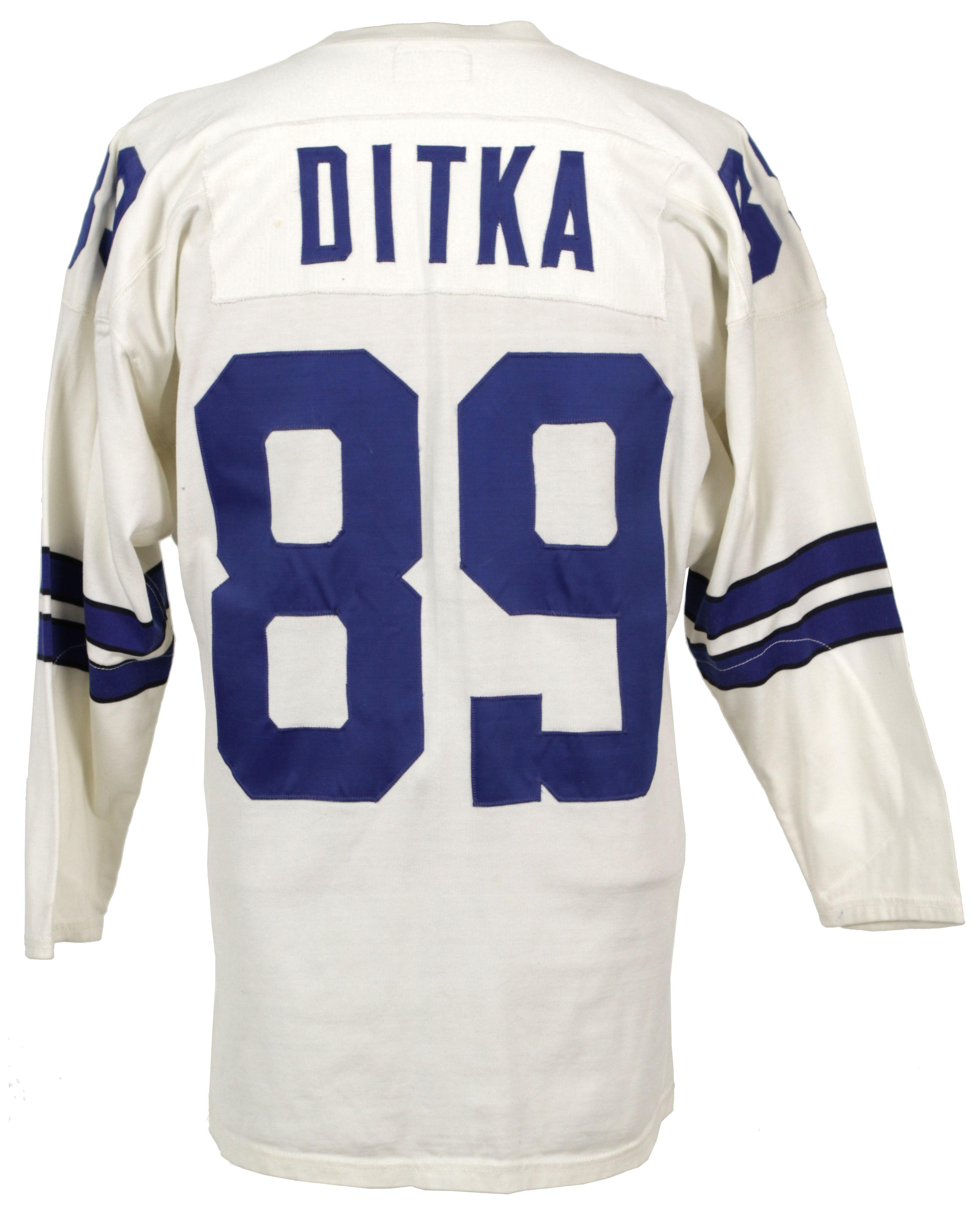 promo code 8f5af 1d40c Lot Detail - 1960s style Mike Ditka Dallas Cowboys Durene ...