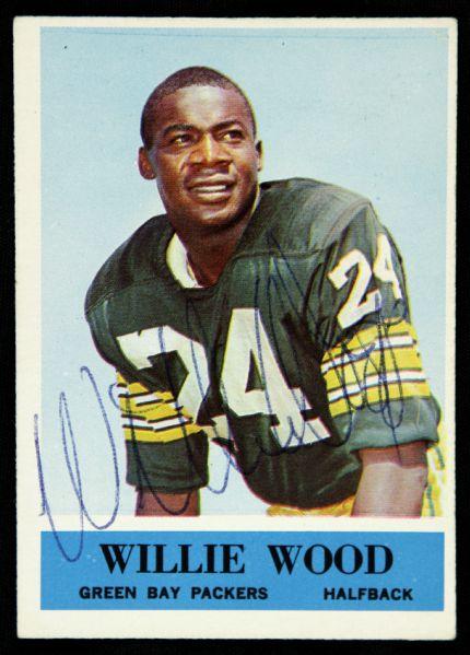 Lot Detail 1964 Philadelphia Willie Wood Green Bay