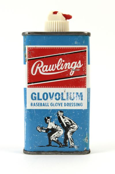 1960s circa Rawlings Glovolium Baseball Glove Dressing
