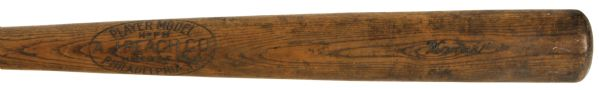 1930s Paul Waner Pittsburgh Pirates A.J. Reach Co. Professional Model Game Bat (MEARS Authentic)