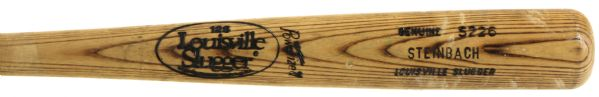 1984 Terry Steinbach Madison Muskies Louisville Slugger Professional Model Minor League Game Used Bat (MEARS Authentic)