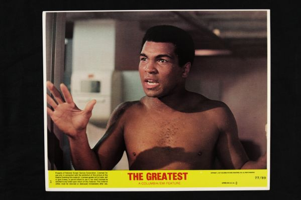 "1977 Muhammad Ali The Greatest 8"" x 10"" Lobby Card Collection - Lot of 8, Full Set"