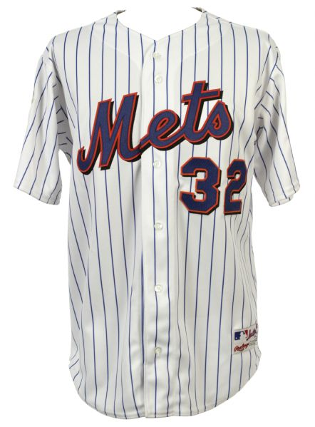 2000 Mike Hampton New York Mets Signed Store Model Home Jersey (JSA)