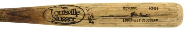 1986-89 Glen Braggs Milwaukee Brewers Louisville Slugger Professional Model Game Used Bat (MEARS A10)
