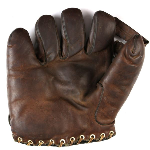 "1930s ""Silent"" John Whitehead Chicago White Sox Left Handed Dubow Store Model Player Endorsed Glove"