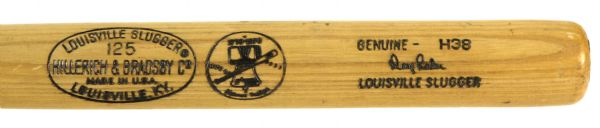 1976 Doug Rader San Diego Padres H&B Louisville Slugger Bicentennial Game Used Bat (MEARS Authentic)