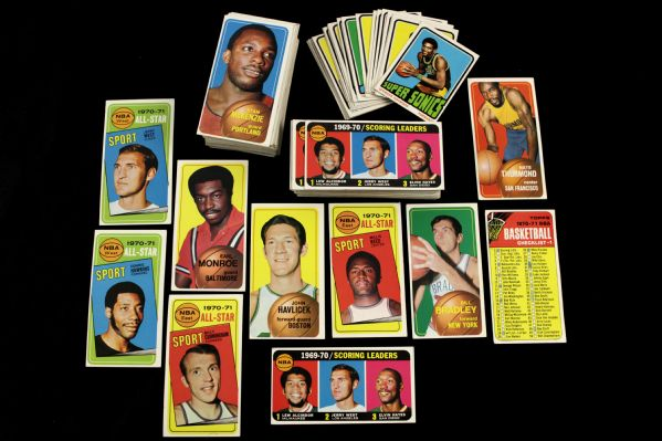 1950s-80s Baseball Football Basketball Boxing Card Collection - Lot of 250+