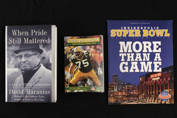 1963-2012 Green Bay Packers Football Books Publications & Poster - Lot of 6