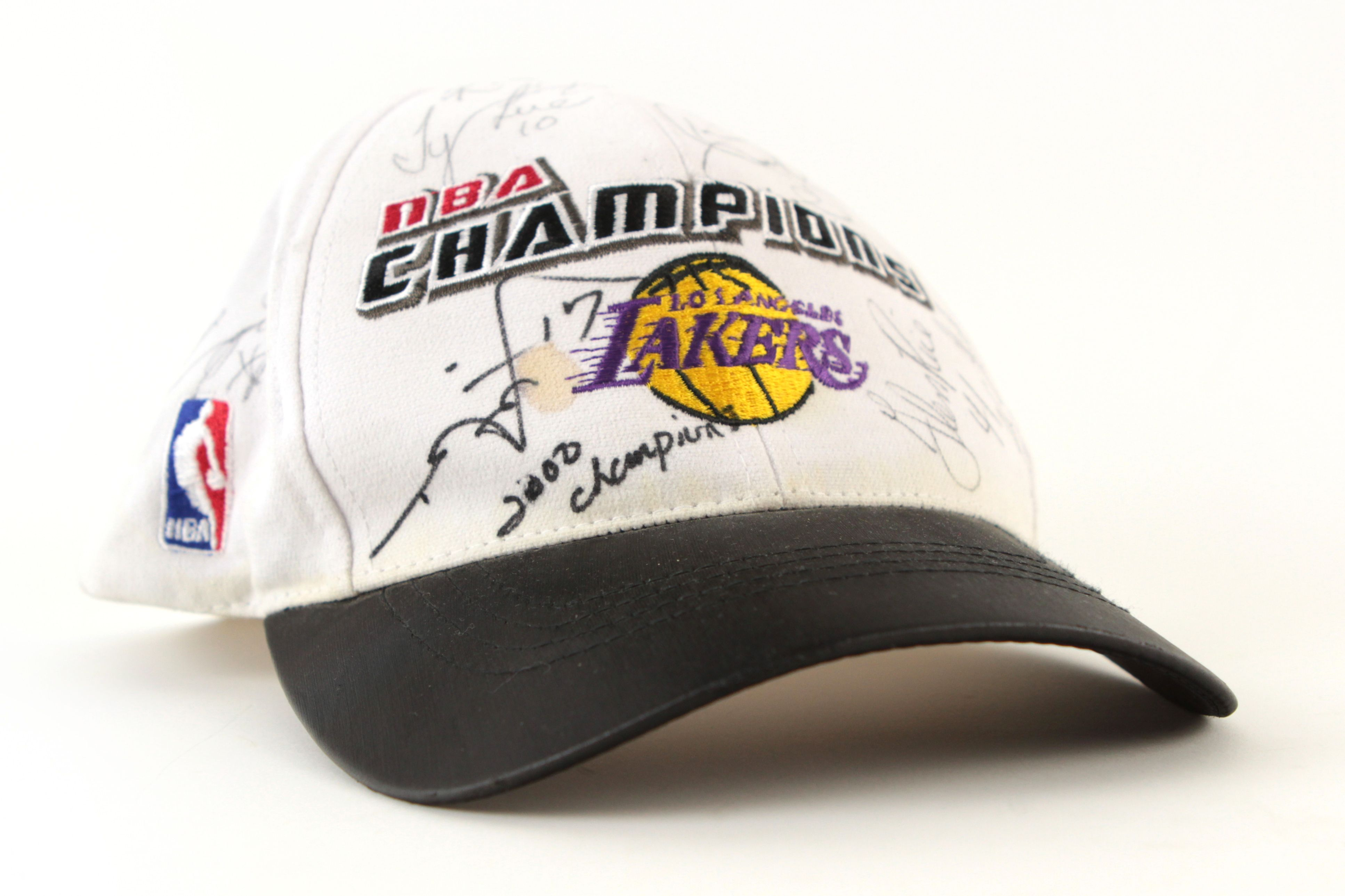 Lot Detail 2000 Los Angeles Lakers NBA Champions Signed