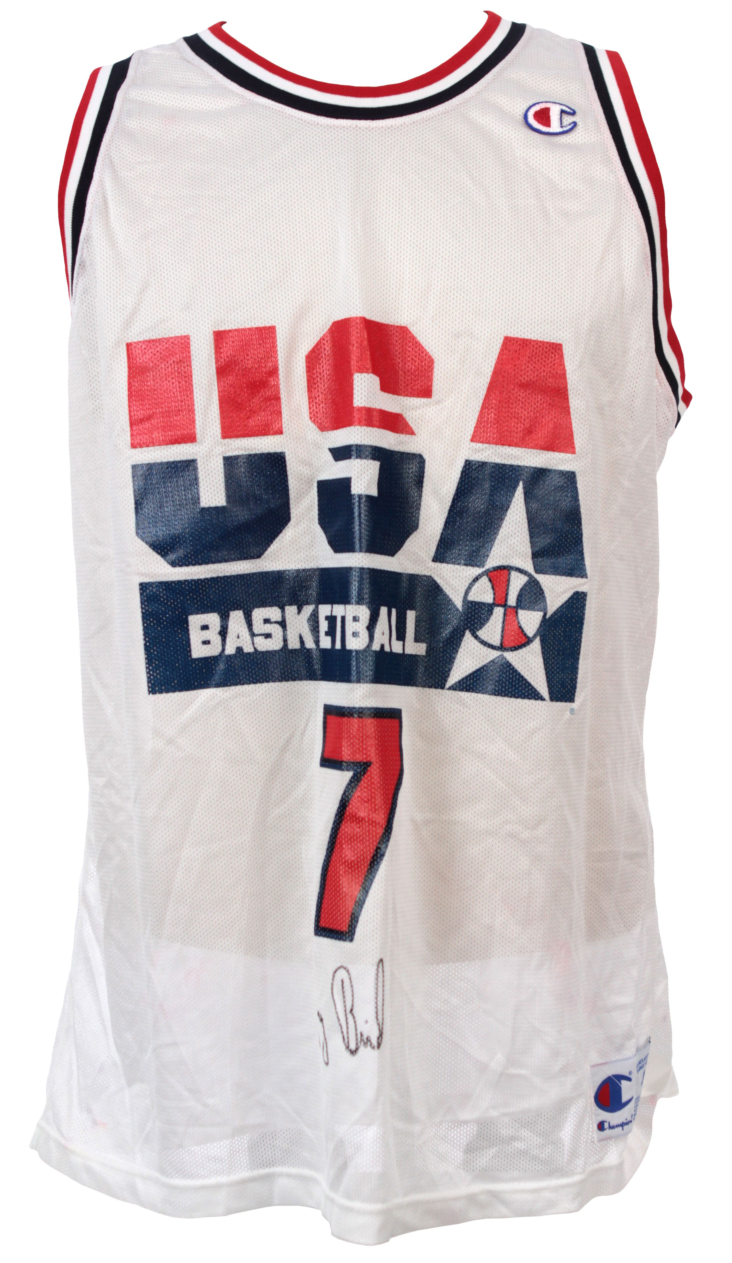 new product e80aa 349a2 Lot Detail - 1992 Larry Bird Dream Team Signed Replica ...