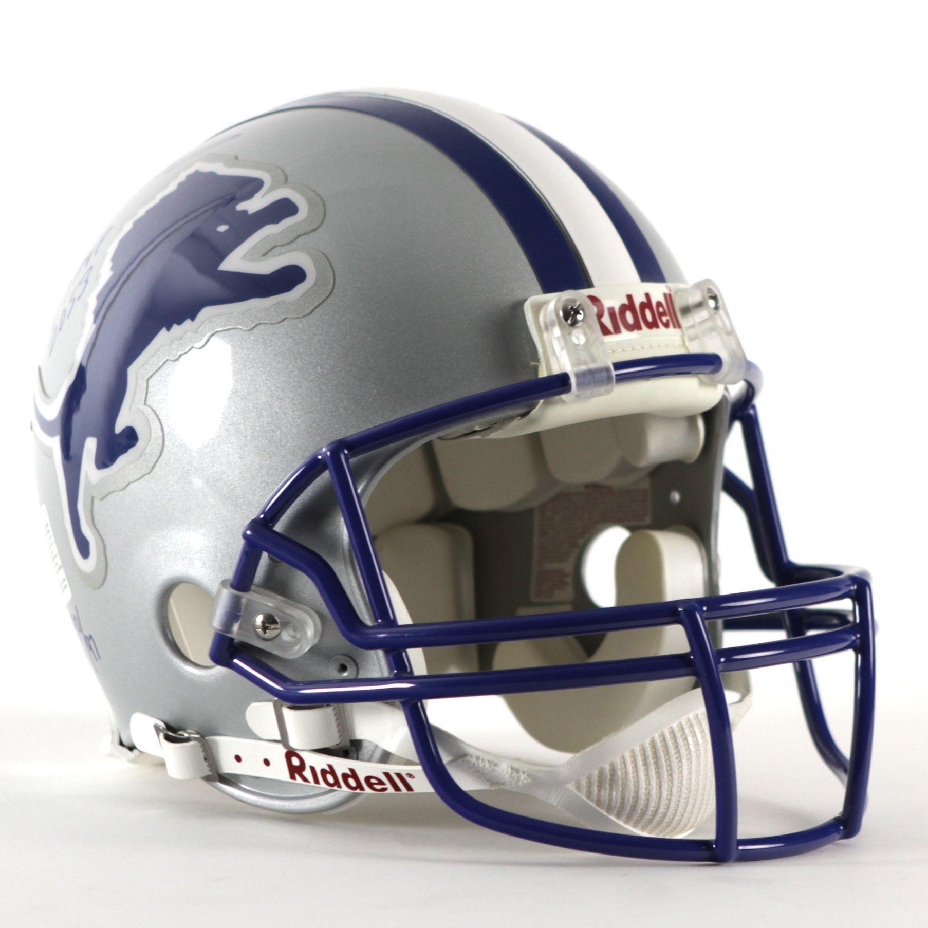 innovative design 62d42 13f8d Lot Detail - 1997 Barry Sanders Detroit Lions Signed Helmet ...